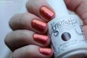 Обзор цвета Gelish Harmony, №01431 Sunrise and the City