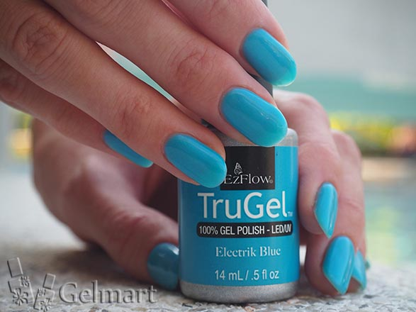 EzFlow, Trugel № 42482 Electric Blue 14 мл.