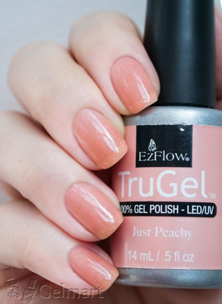EzFlow, Trugel № 42451 Just Peachy 14 мл. (годен до 2018 г)