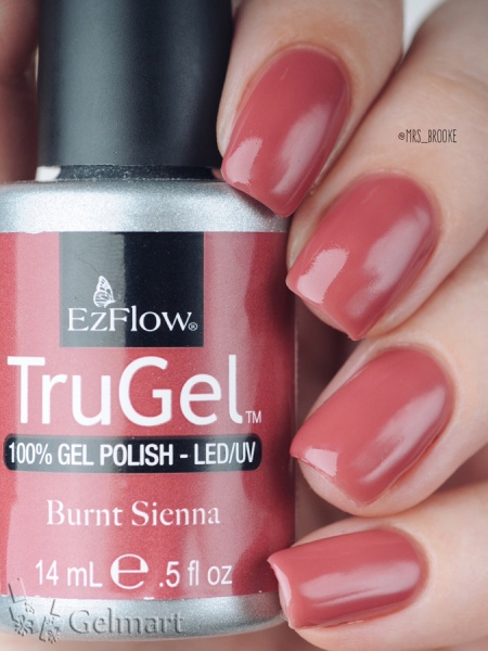 EzFlow, Trugel № 42260 Burnt Sienna 14 мл.