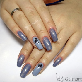 IBD, Just Gel № 56685 Pretty in Pewter, 14 мл.