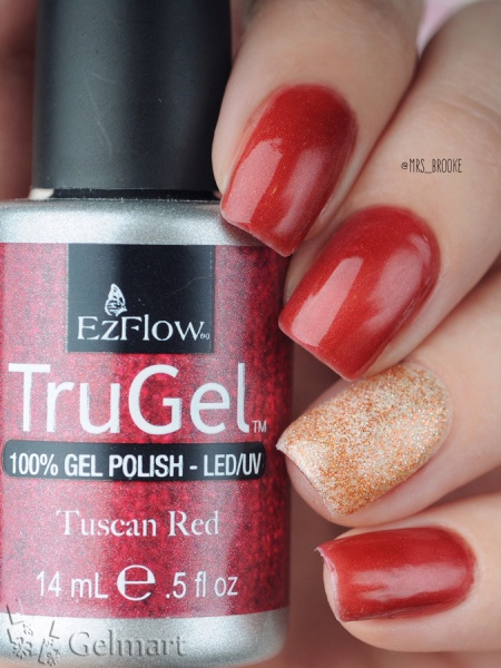 EzFlow, Trugel № 42274 Tuscan Red 14 мл.