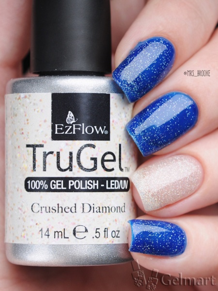 EzFlow, Trugel № 42265 Crushed Diamond 14 мл. (годен до 2018 г)